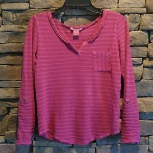 Lucky Brand Popover Top.  Size XS